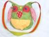 Kindertasche grüne Eule