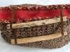 Handtasche wooden-knitwear braun
